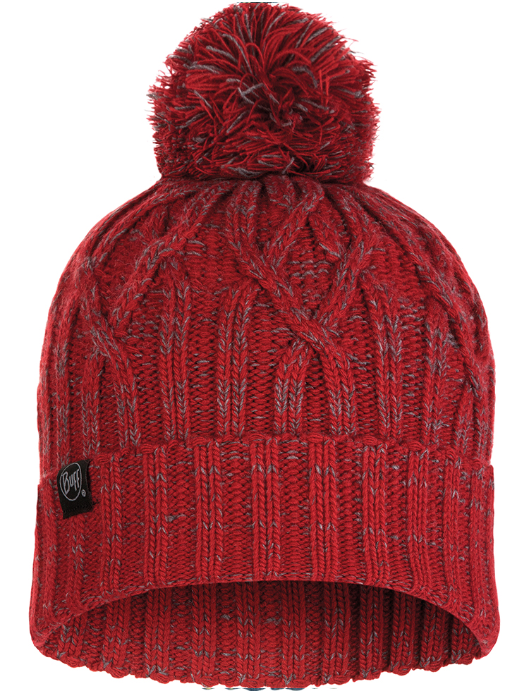 Knitted Hat - Idun Red