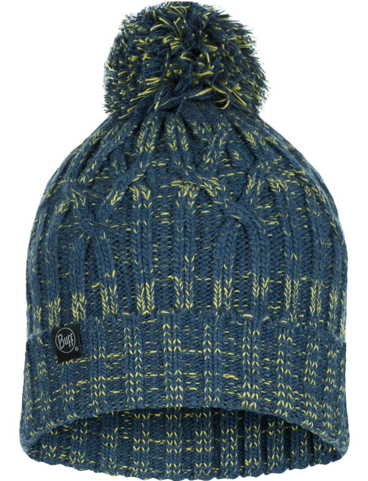 Knitted Hat - Idun Denim