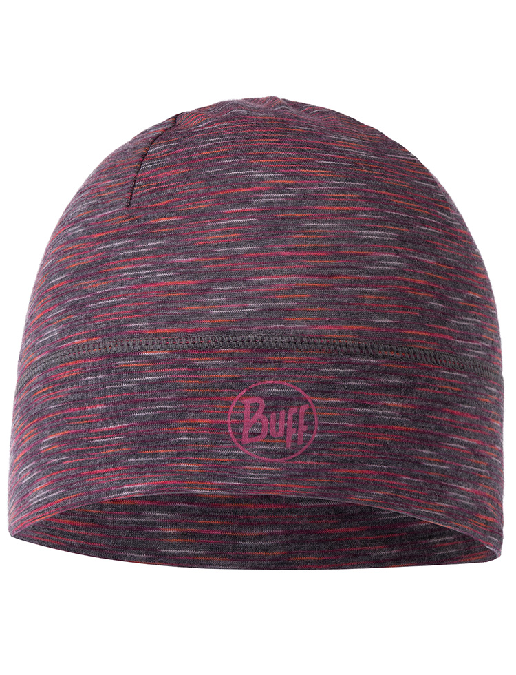 Lightweight Merino Wool Hat - Shale Grey Multi