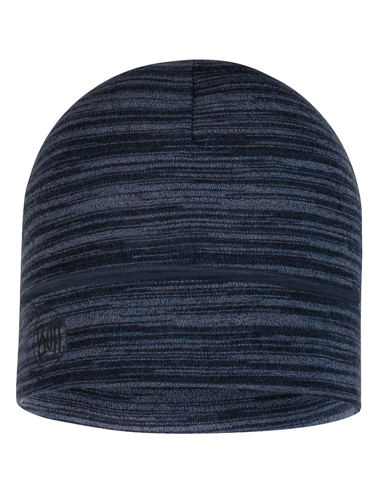 Lightweight Merino Wool Hat Castlerock Grey Multi