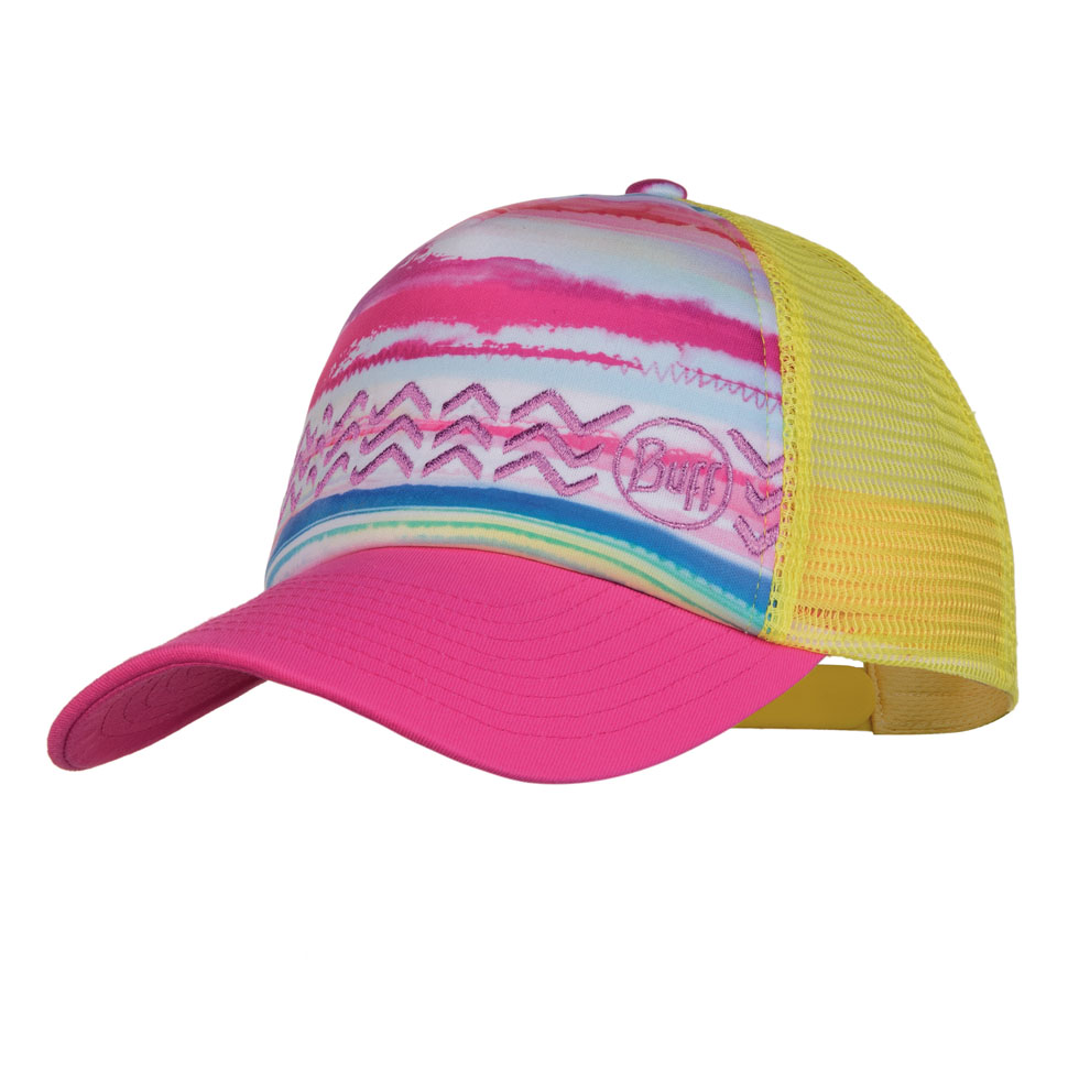 Junior Trucker Cap - Multi Pink