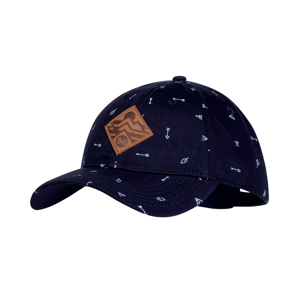 Junior Baseball Cap - Arrows Denim