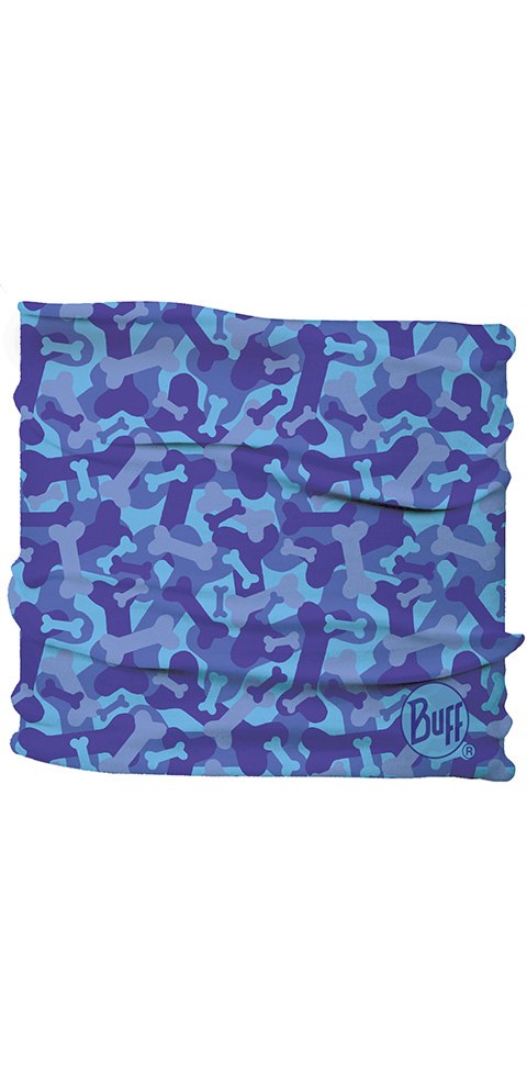 Dog Insect Shield Neckwear Bone Camo Blue