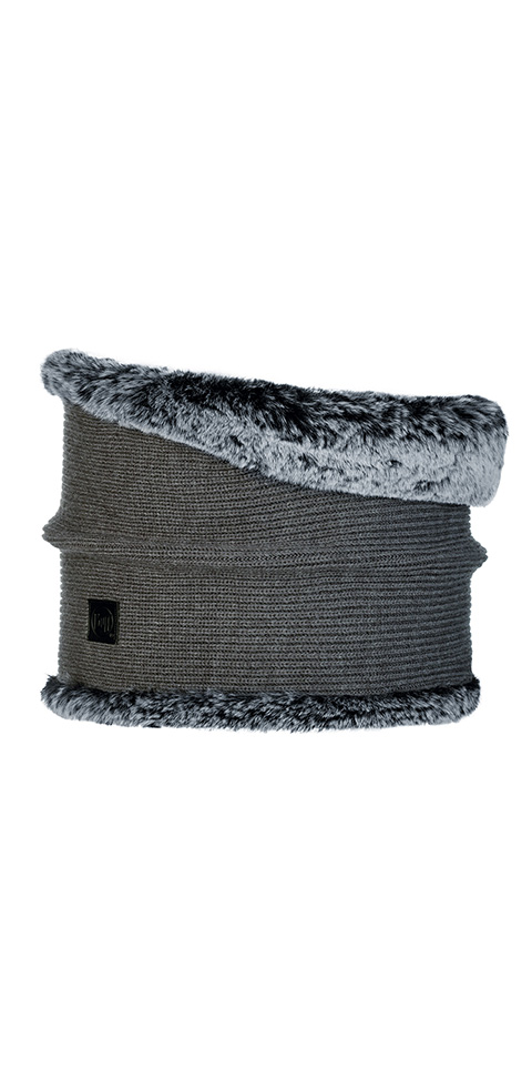 Knitted Neckwarmer Comfort - Kesha Grey