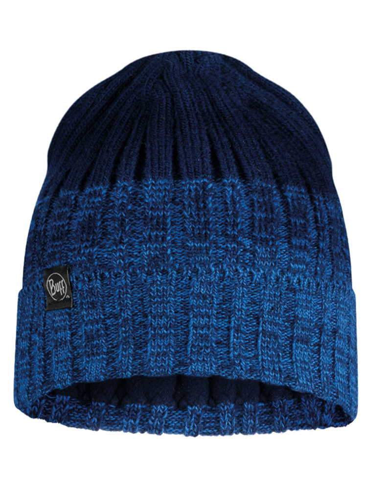 Knitted & Fleece Hat - Igor Night Blue