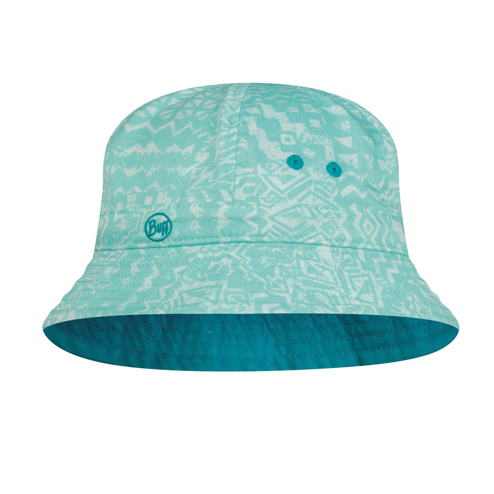 Junior Bucket Hat - Aqua