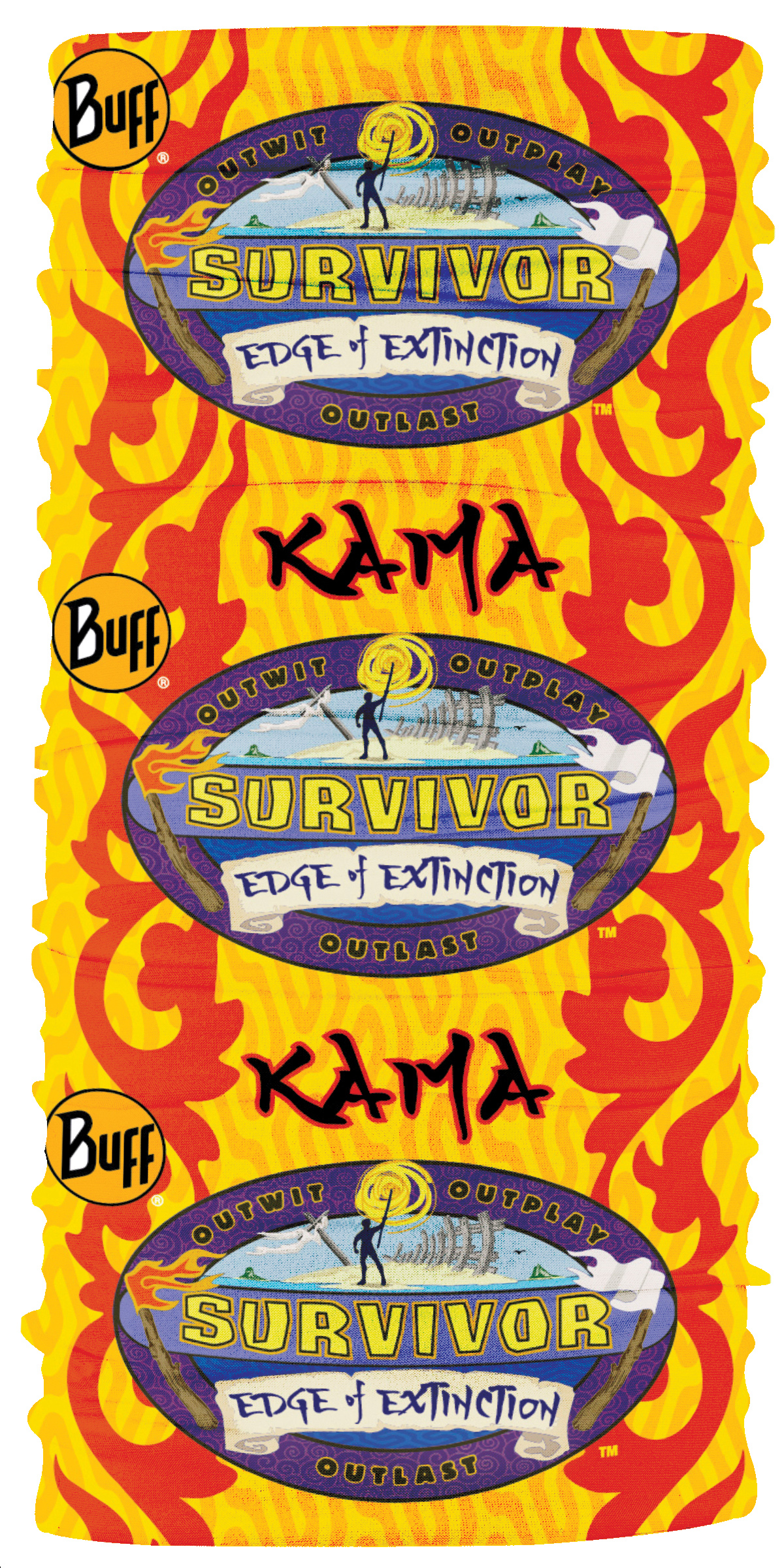 Original Survivor Survivor 38 Yellow