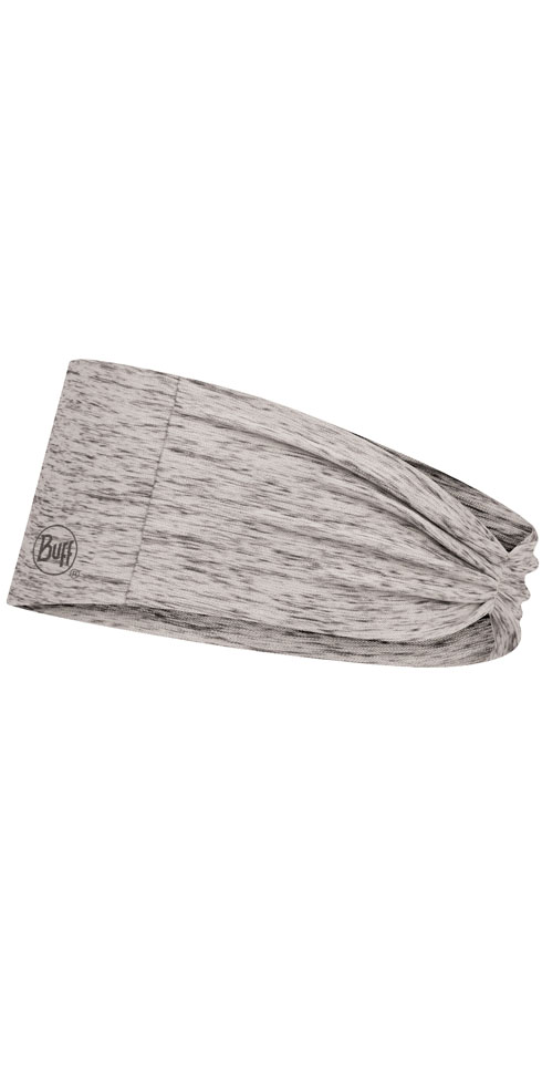 CoolNet UV+ Tapered Headband - Grey Heather
