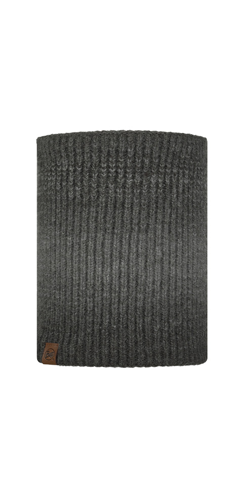 Knitted & Fleece Neckwarmer - Marin Graphite