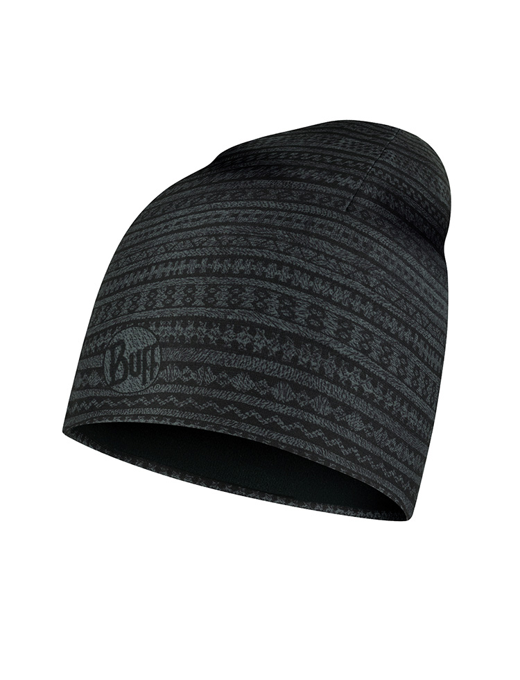 Microfiber & Polar Hat - Ume Black