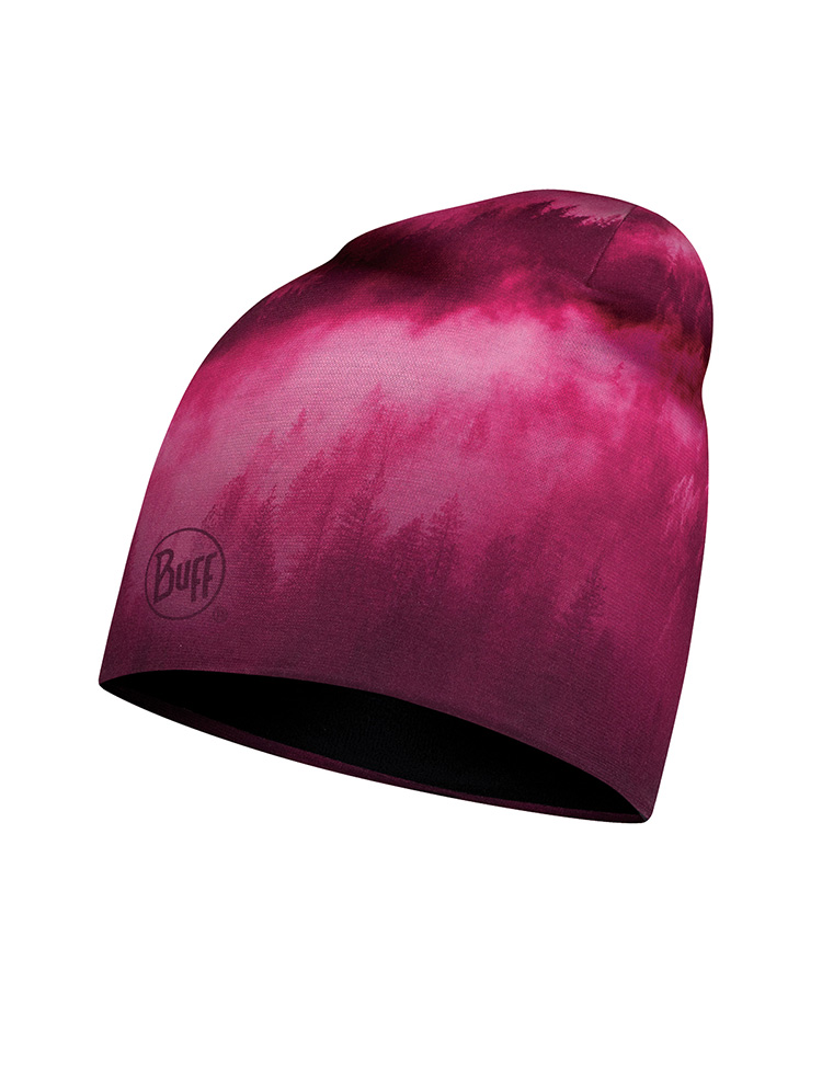 Microfiber & Polar Hat - Hollow Pink