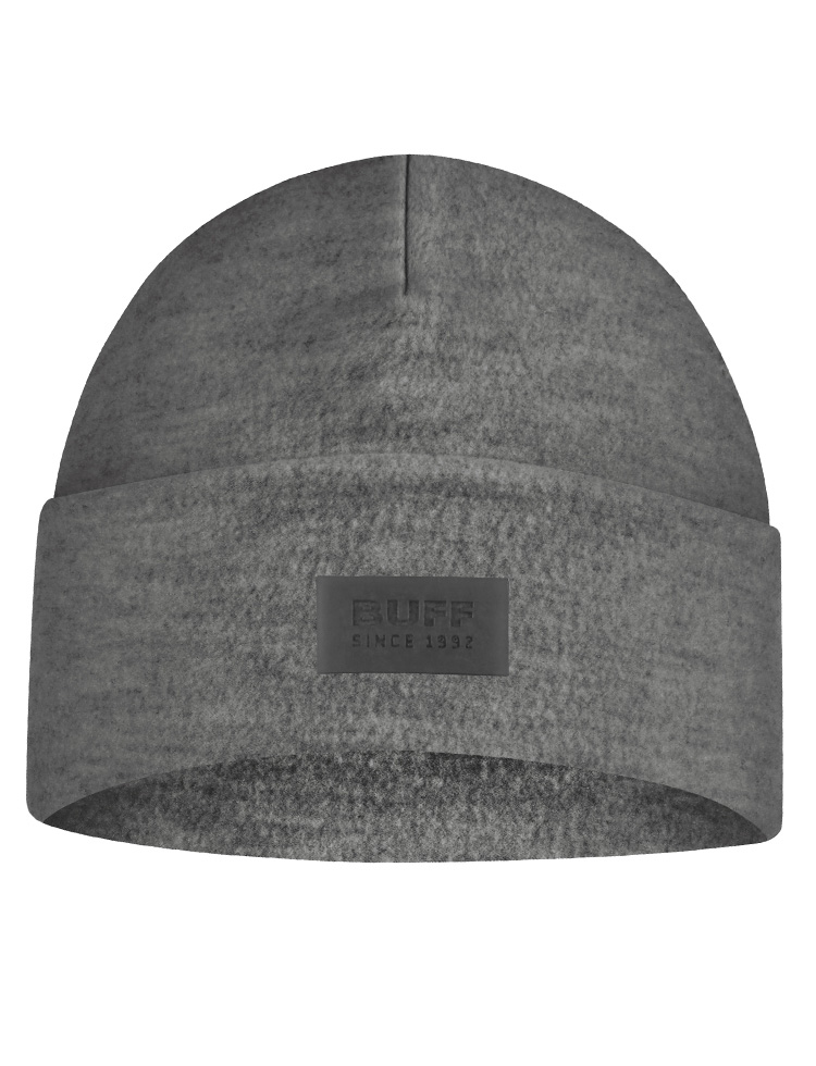 Merino Wool Fleece Hat - Grey