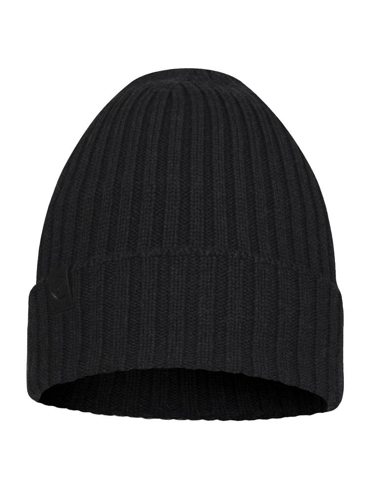 Merino Wool Knitted Hat - Norval Graphite