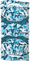 UV Buff - Megalodon Teeth Camo Blue