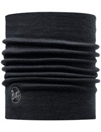 Heavyweight Merino Wool Neckwarmer Black