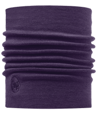 Merino Wool Thermal Neckwarmer - Plum
