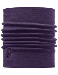 Heavyweight Merino Wool Neckwarmer - Plum