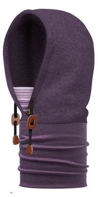 Polar Thermal Hoodie - Purple Pennant