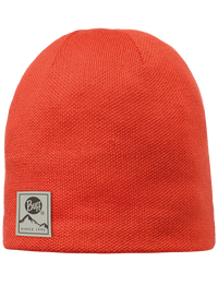 Knitted & Polar Hat - Orange