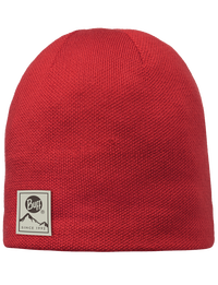 Knitted & Polar Hat - Red