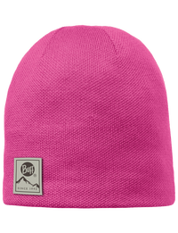 Knitted & Polar Hat - Magenta