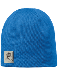 Knitted & Polar Hat - Blue