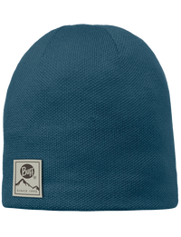 Knitted & Polar Hat - Ocean