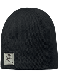 Knitted & Polar Hat - Black