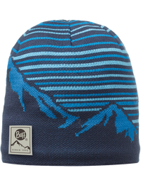 Knitted & Polar Hat - Laki Blue