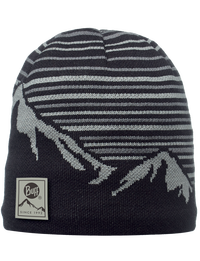 Knitted & Polar Hat - Laki Black
