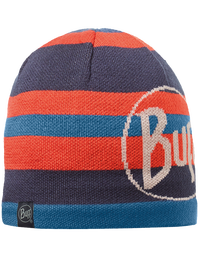 Knitted & Polar Hat - Ovel Blue