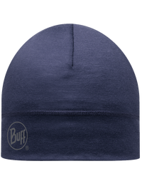 Merino Wool Hat - Denim