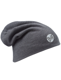 Merino Wool Thermal Hat - Grey