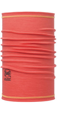 Merino Wool 3/4 Buff - Coral