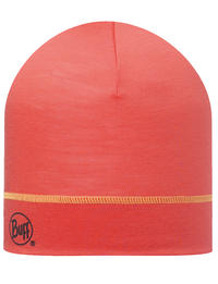 Lightweight Merino Wool Hat - Coral