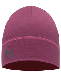 Lightweight Merino Wool Hat - Pomegranate