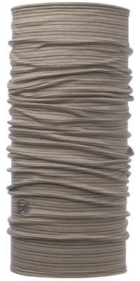 Lightweight Merino Wool - Walnut Brown Stripes