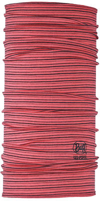Lightweight Merino Wool - Coral Stripes