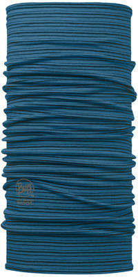 Merino Wool BUFF - Seaport Blue Stripes