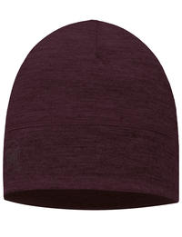 Lightweight Merino Wool Hat Plum