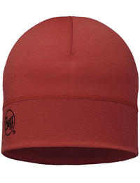 Lightweight Merino Wool Hat - Brick