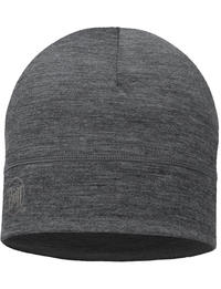Lightweight Merino Wool Hat Grey 2
