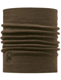 Heavyweight Merino Wool Neckwarmer - Walnut Brown