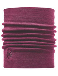 Heavyweight Merino Wool Neckwarmer - Purple Raspberry