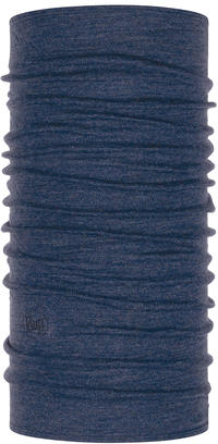 Midweight Merino Wool - Night Blue Melange