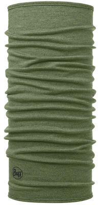 Midweight Merino Wool - Light Military Melange