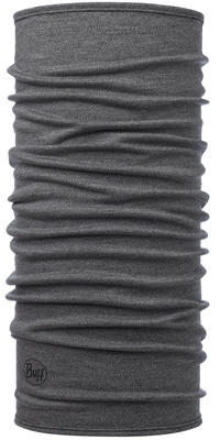 Midweight Merino Wool Light Grey Melange