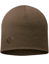 Heavyweight Merino Wool Hat - Walnut Brown