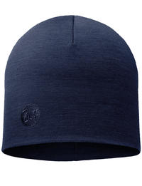 Heavyweight Merino Wool Hat - Denim