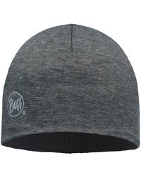 Microfiber Polar Hat - Grey Stripes